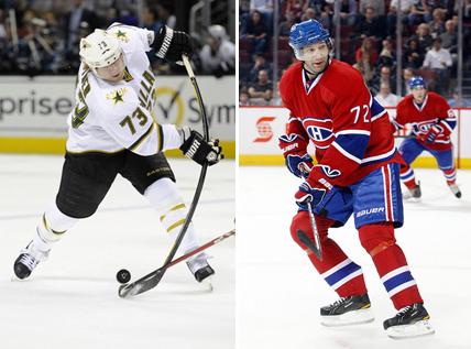 Erik Cole n'aura même pas passé la moitié de son contrat à Montréal. Quant à Michael Ryder, il fait son retour dans la métropole québécoise.