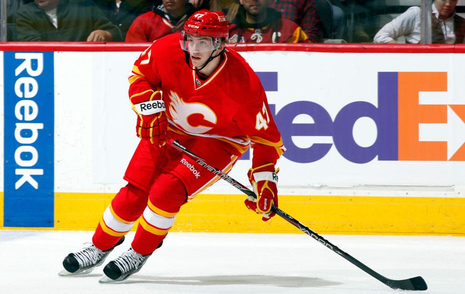 Sven Baertschi est l'un des meilleurs espoirs des Flames, qui entament une reconstruction qui s'annonce douloureuse.