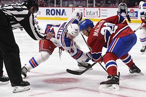 Manny Mahotra, arrivé cet été, domine la NHL pour les mises au jeu. Et dans son sillage, tous les centres du CH brillent dans l'exercice.