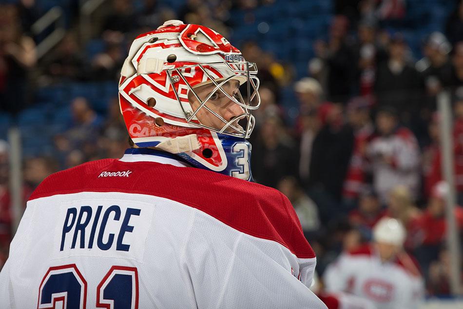 Carey Price, bien remis de la blessure qui l'avait privé de la finale de la Conférence Est, est l'élément clef d'un Canadien qui mène la ligue.