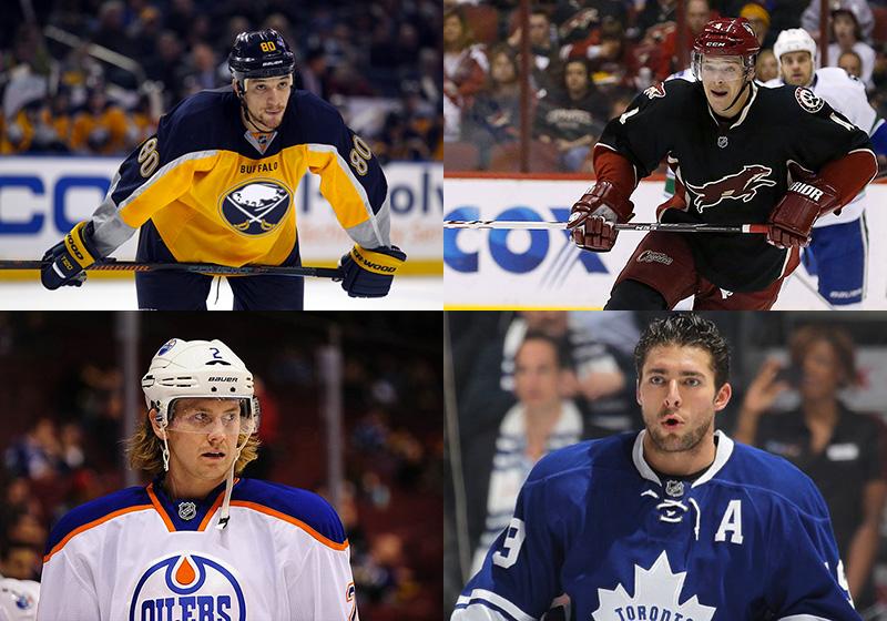 Quelques uns des joueurs qui devraient changer d'adresse aujourd'hui: l'ailier des Sabres Chris Stewart, le défenseur des Coyotes Zbynek Michalek, celui des Oilers, Jeff Petry, et l'ailier des Leafs, Joffrey Lupul.
