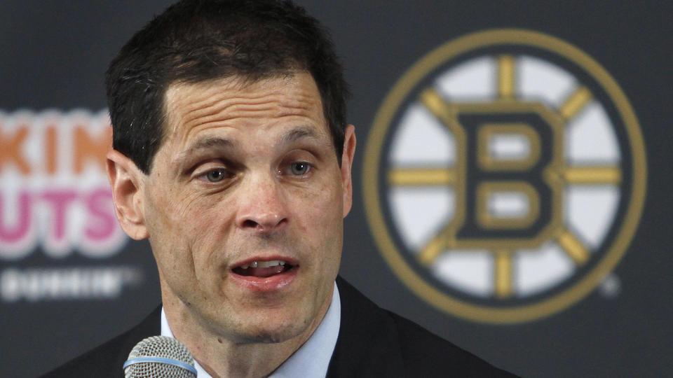 Le nouveau DG des Bruins a fait une entrée en fonction pour le moins fracassante.
