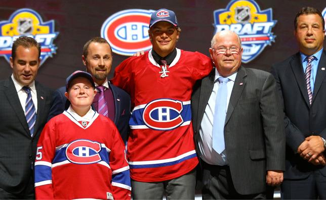 Le premier choix du Canadien, Noah Juulsen (image Canadiens.com)